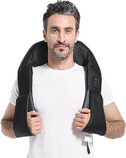Massage Shiatsu nek schouder massage warmte 3D rotatie masseur voor thuis kantoor - GESS KORT