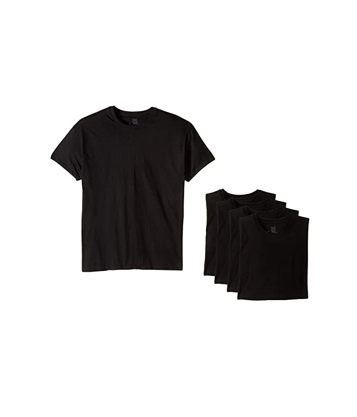 Pack Core Cotton Platinum Crew Black