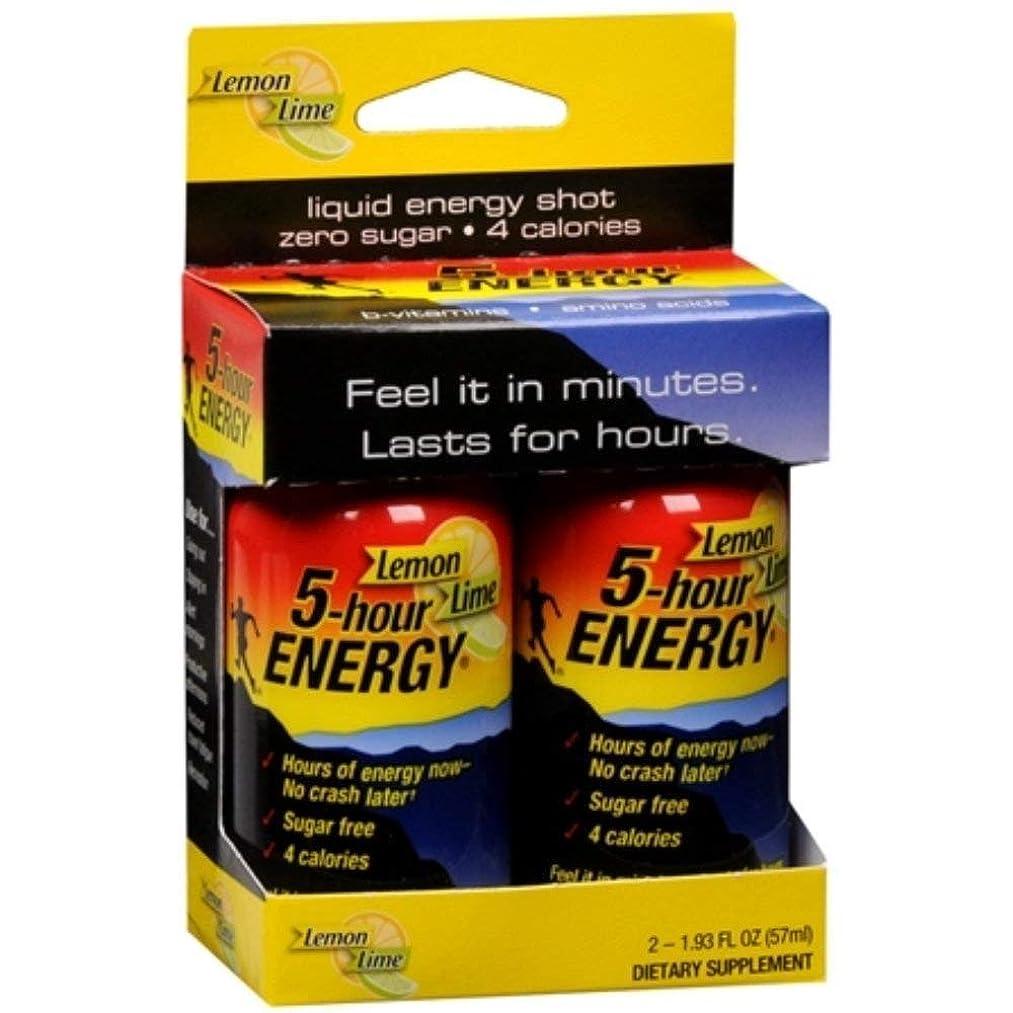 5 Hour Energy Drink Lemon-Lime, 2x2 Ounce