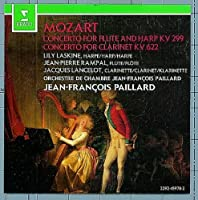 Mozart: Concerto For Flute and Harp KV 299 / Concerto for Clarinet, KV 622 by Jean-Pierre Rampal