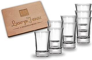 Lauryn Janae Premium Glassware 1.5oz Heavy Base Clear Shot Glasses, Cocktail, Appetizer, Parait, Trifle, or Dessert Taste Samplers (Set of 8)