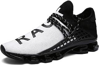 JIYE Men's Running Sports Shoes Free Transform Flyknit Fashion Casual Sneakers
