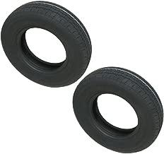 2-Pack eCustomrim Trailer Tire 8-14.5 Load G Bias 3100 Lb. Capacity Bias Ply