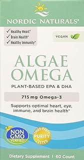 Nordic Naturals Alga Omega. 715Mg Omega 3-60 Cápsulas Blandas 60 Unidades 80 g