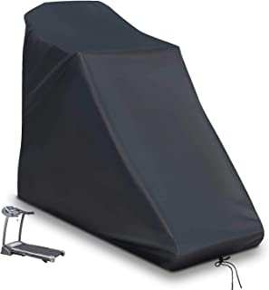 Saking Treadmill Cover with Drawstring for Home & Club, Universal Fit Non-Folding Running Machine (78 L x 37 W x 62 H)