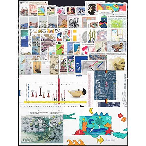 Goldhahn BRD Bund Jahrgang 1998 postfrisch ** MNH komplett Briefmarken für Sammler