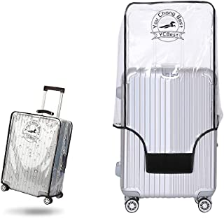 YouChangBest PVC Luggage Protector Cover Clear Suitcase Cover Protector Fit Most 20'' to 30'' Luggage