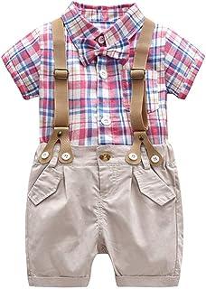1-6Years,Zimuuy Children Kids Boys Girls Long Sleeve Button Plaid Shirt Tops Blouse+Denim Pants Jeans Set Outfits