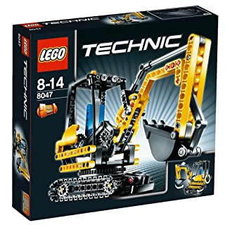 LEGO Technic 8047 - Kompaktbagger (B002KCNUKI)   Amazon price tracker / tracking, Amazon price history charts, Amazon price watches, Amazon price drop alerts