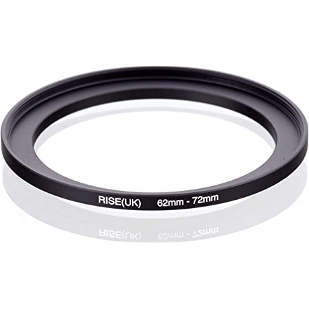 4 Pack Sensei 72mm Lens to 62mm Filter Step-Down Ring