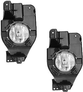 Roadstar Fog Lights 12V 55W H11 Halogen Lamp Bulb Fit for 2011 2012 2013 2014 2015 Ford Explorer Clear Lens