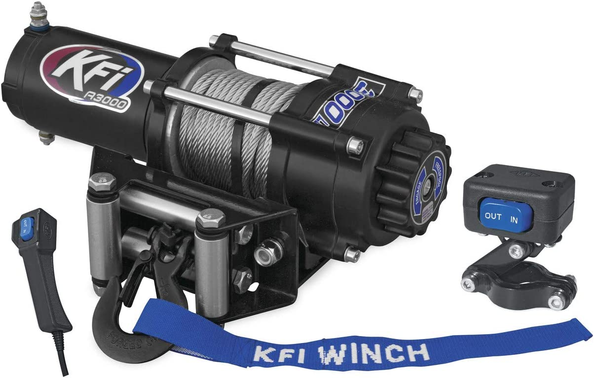 shopping New KFI 3000 lbs. Ranking TOP15 Winch Moun Cable Specific Model Wire