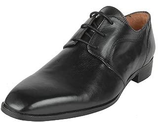 Salt N Pepper 15-338 Arman Black Real Leather Shoes