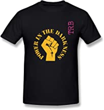 LMF Power In The Darkness Cotton O-Neck T Shirt For Mens Black