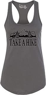 Custom Apparel R Us Take a Hike Camping Womens Racerback Tank