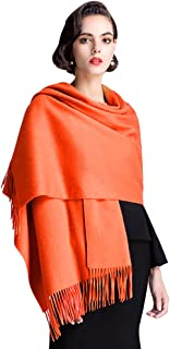 Soft Cashmere Scarf, Winter Large Warm Scarf Shawls Wrap for Women
