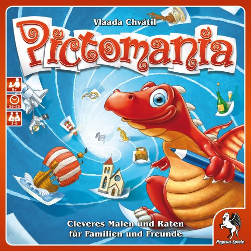 Pegasus Spiele 54305G - Pictomania, Revised Edition