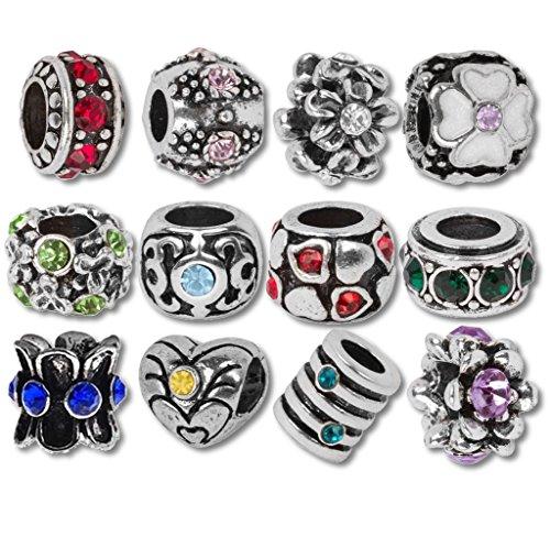 Timeline Treasures European Charm Bracelet Charms And Beads For Women Diy Jewelry Birthstone Buy Online In Japan At Desertcart Jp Productid 2360484
