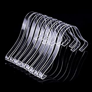 TXIN 10 Pcs/5 Pairs Acrylic Clear Sandal Shoes Display Stand Inserts Holders Shoe Display Rack Shoe Support for Women's Shoes
