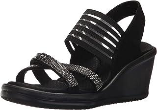 Skechers Women's Rumblers-Modern Maze Wedge Sandal
