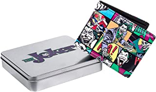 Official Licensed DC Comics The Joker Pop Art Style Wallet in Gift Tin