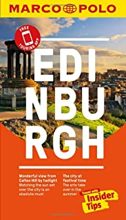 Edinburgh Marco Polo Pocket Travel Guide - with pull out map