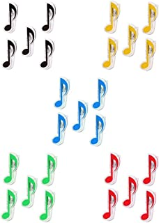 Fenteer 5 Packs Music Book Note Sheet Music Clips For Guitar Parts Accessories