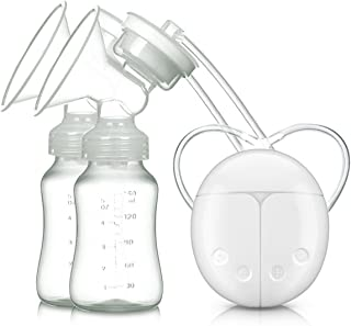 Sacaleches, Extractor de Leche Eléctrico VOSMEP Mute Conversión de Frecuencia Bilateral Carga USB BPA-Free & 100% Grado de Comida para Pecho Doble Modo de Masaje y Prolactina SH043