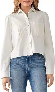 DL1961 Women's Simone Cropped Shirt