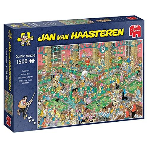 Jumbo 20026 Jan Van Haasteren-Chalk Up-1500 Teile Puzzlespiel, Mehrfarben