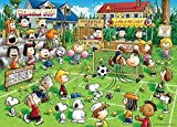 HJHJHJ Wooden Puzzle - 1000 Puzzles-Snoopy Soccer-AdultS Rejuvenation Entertainment Toys - Childrens Puzzles