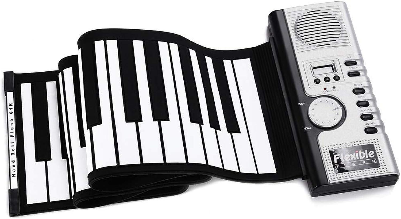 de moda Haol Flexible 61 Teclas de Silicona Midi Teclado Digital Digital Digital Enrollable Piano  gran selección y entrega rápida