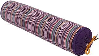 Almohada cervical natural orgánica de Sarrasin - Rollo de almohada cervical, color morado