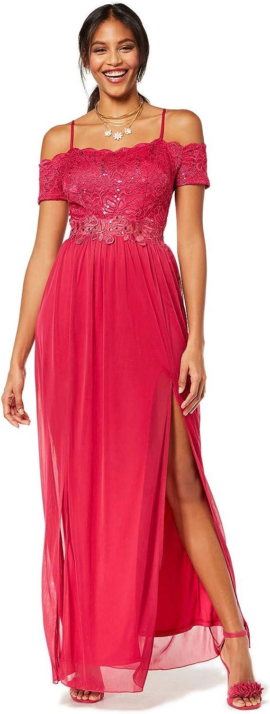Bcx Juniors' Sequin Lace OffTheShoulder Gown