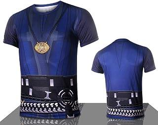 38dd756ddc8 Camiseta Marvel Camiseta de Manga Corta Camiseta de Secado rápido Camiseta  Marvel Heroes Avengers Camiseta Doctor