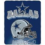 NFL Dallas Cowboys Gridiron Fleece Throw, 50 x 60-inches