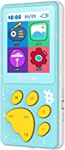 Aniee 8GB MP3 Player for Kids, Portable Music Player with FM Radio, Voice Recorder, Blue