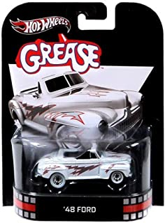 Hot Wheels Retro Grease 1:55 Die Cast Car '48 Ford