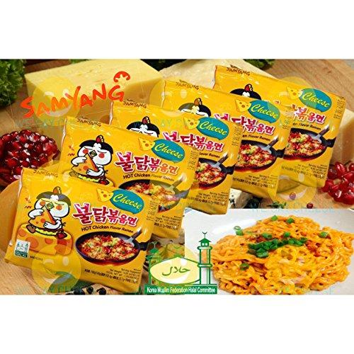 Samyang Sabor a queso de Ramen de pollo caliente (tallarines stir)