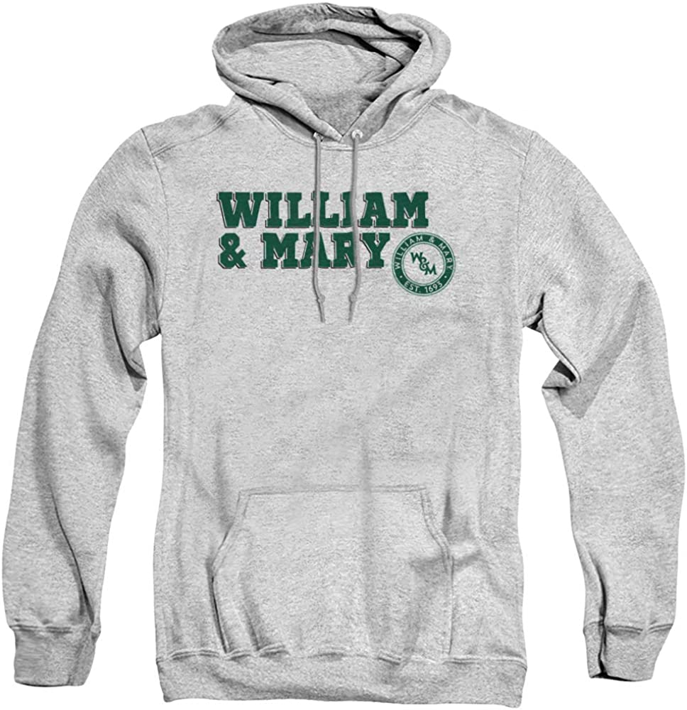 College of Bombing new work William Mary Official Adult Max 46% OFF Pull- Text Block Unisex