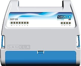 Samcla SBP 06 Programador eléctrico, Blanco y Azul
