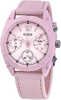 Guess Quartz Pink Dial Ladies Watch W1296L4
