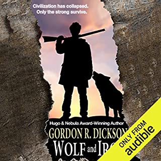 Wolf and Iron audiobook cover art