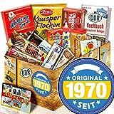 Original seit 1970 - Süßigkeitenbox mit DDR Waren - 1970 Geschenk Geburtstag
