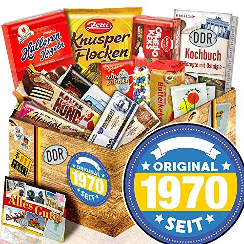 Original seit 1970 - Ostpaket mit Süßigkeiten - 1970 Geschenk Mann
