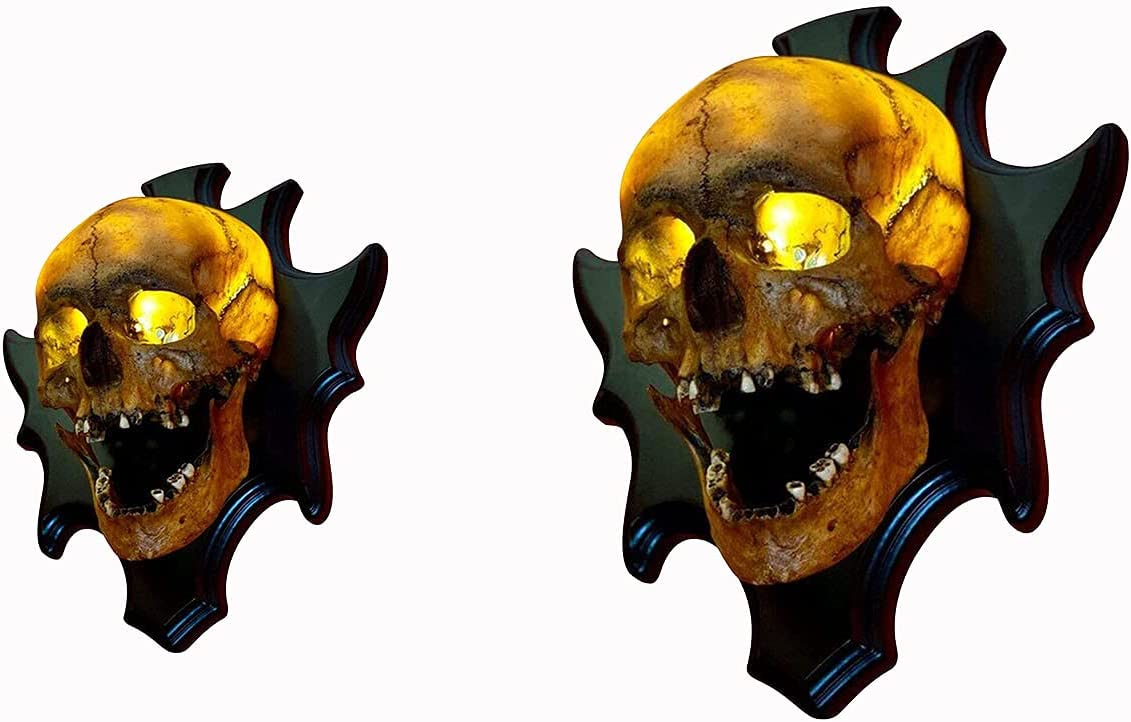 Max 62% OFF koeyleo Skull Lamp Singing High material Head Night Light F Wall-Mounted