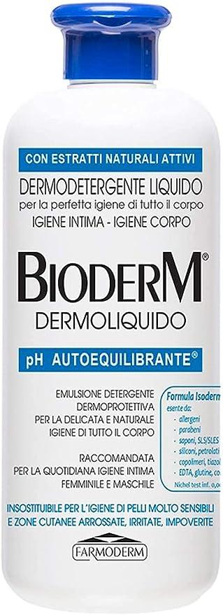 52 opinioni per BioDerm Dermoliquido Detergente per Pelli Sensibili e Igiene Intima 500 ml-