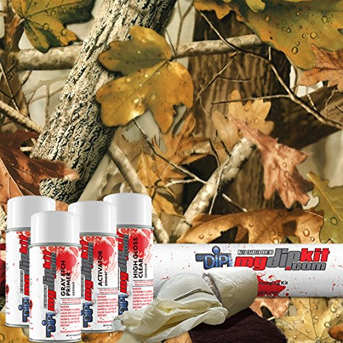 New Fall Leaves Camouflage Hydrographics Kit MyDipKit - HC-243 - My Dip Kit