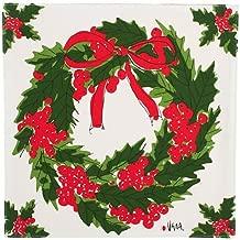 Vera Wreath Green Placemat