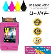 UInk Brand HP 61XL Ink Cartridge, Tri-color High Yield (CH564WN) for HP Deskjet 1000 1010 1012 1050 1051 1055 1056 1510 1512 1514 1051 2050 2510 2512 2514 2540 2541 2542 2543 2544 2546 2547 3000 3050